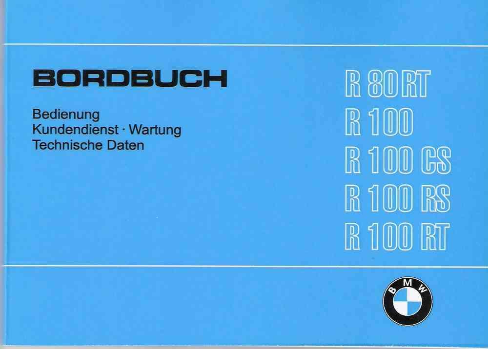 Motorradteile Auto & Motorrad: Teile BMW R45 R65 Bordbuch Handbuch ...